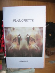 Cover of Planchette, by Juliet Cook